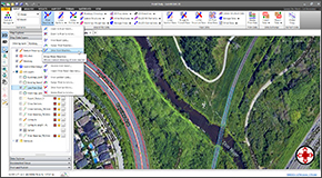 Interact graphically with all HEC-RAS model elements. Effortlessly create and edit cross sections, bridge and culvert roadway crossings, ineffective flow areas and other model elements by clicking and dragging. Uncomplicated dialog boxes allow easy data entry and review.